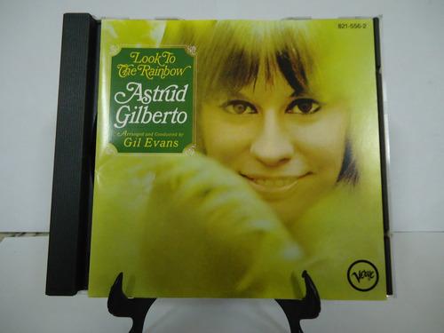 Cd Astrud Gilbert The Look Rainbow - Reembalado Estojo Novo Original