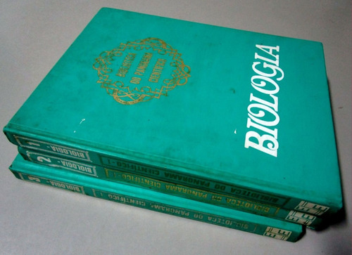 Biologia - Aurélio Bolsanello - 3 Volumes Original