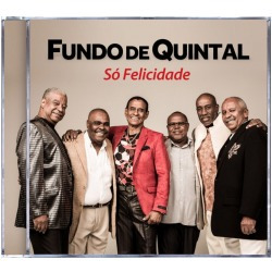 Cd Fundo De Quintal So Felicidade 2014 Original