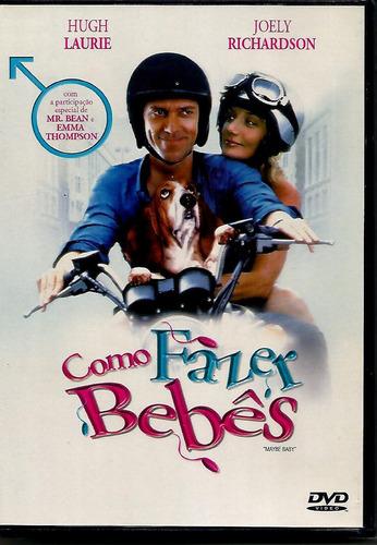Dvd Como Fazer Bebês - Hugh Laurie - Lacrado - Novo Original