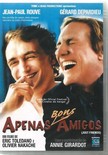 Dvd Apenas Bons Amigos - Gérard Depardieu - Lacrado - Novo Original