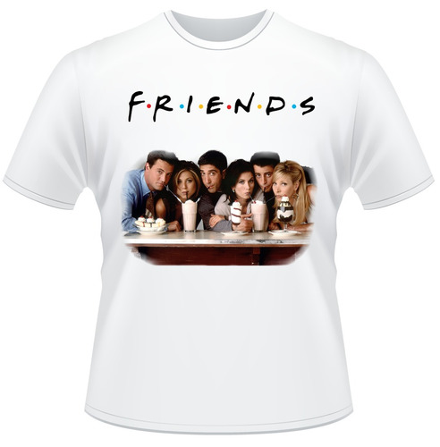 Camisa Friends Branca