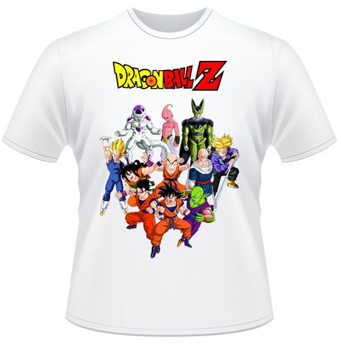 Camisa Dragon Ball Z