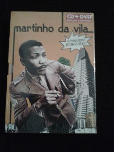 Dvd + Cd Martinho Da Vila - O Pequeno Burgues (lacrado) Original