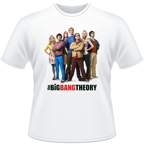 Camisa The Big Bang Theory