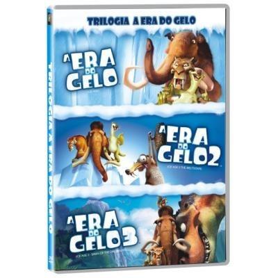 A Era Do Gelo: A Trilogia (3 Dvds) Original