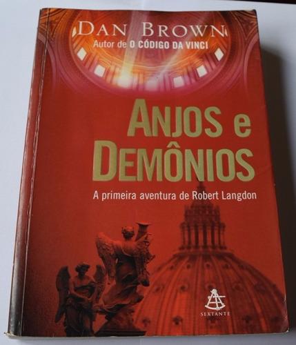 Livro Anjos E Demônios - Dan Brown Original