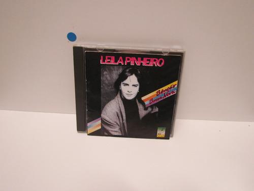 Cd Leila Pinheiro - Bênção, Bossa Nova - By Trekus Vintage Original