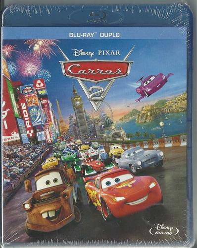 Blu-ray Carros 2 -  Disney Pixar (duplo) Novo Lacrado Original