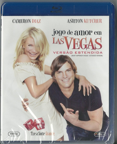 Blu Ray Jogo De Amor Em Las Vegas Ashton Kutcher Cameron D Original