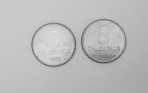 Moedas De 5 Cruzeiros Original