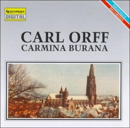 Cd Carl Orff - Carmina Burana - Importado Usa Original