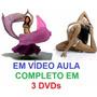 Aulas Dança Do Ventre Yoga Completo Em 3 Dvds