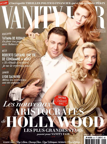 Vanity Fair Francesa Abril 2015 Hollywood Original