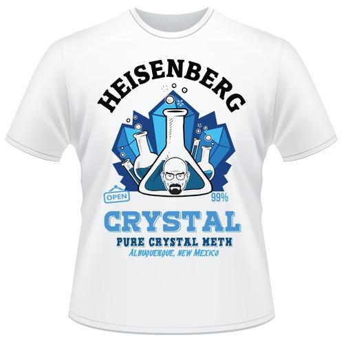 Camisa Breaking Bad Crystal Heisenberg