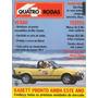 Quatro Rodas Nº330 Janeiro 1988 Escort Xr3 Monza Sl/e Voyage