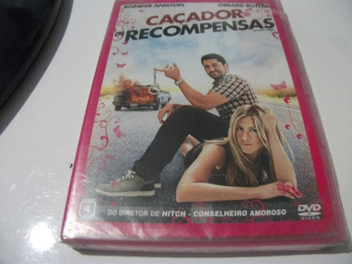 Dvd-caçador De Recompensa- Jennifer Aniston -lacrado Original