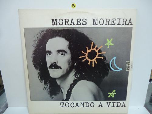 Lp Moraes Moreira Tocando A Vida Selo Cbs 1985 Encarte Original