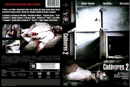 Dvd Cadaveres 2 Com Heather Donahue E Lisa Crilley Original