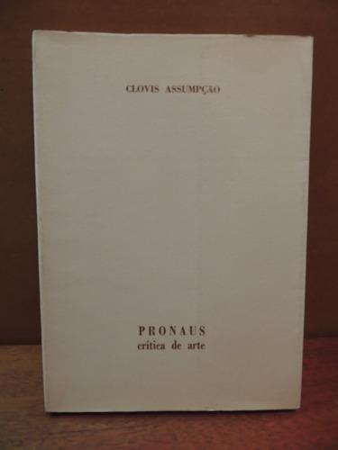 Livro Pronaus Apresentação De Catálogos Clovis Assumpção Original
