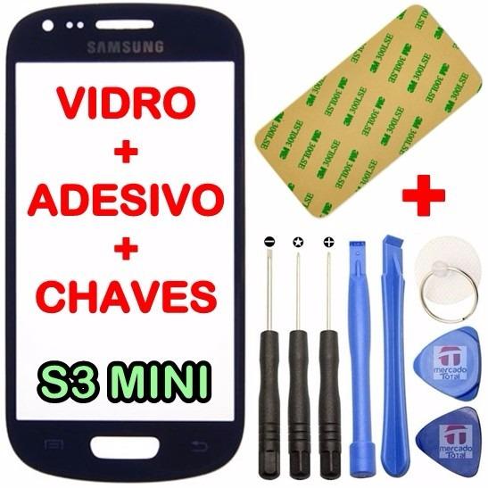 Vidro Samsung Galaxy S3 Mini I8190 Tela S/ Touch Lcd Display