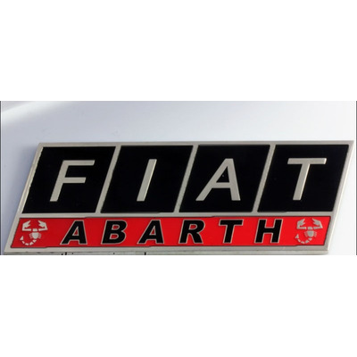 emblema logo abarth fiat 500 uno palio linea punto t jet r 35 99 em mercado livre. Black Bedroom Furniture Sets. Home Design Ideas
