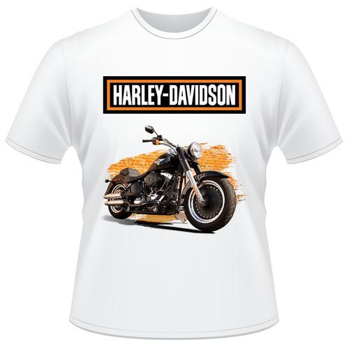 Camisa Harley Davidson Motor Cycles