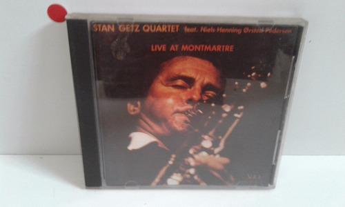 Cd Stan Getz Quartet Live At Montmartre - By Trekus Vintage Original
