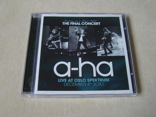 Cd - A-ha - The Final Concert - Live At Oslo Spektrum 2010 Original