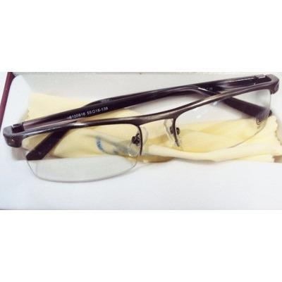 Armação Oculos Grau Cartier Acetato Meio Aro Gold R  119 c5dc4974bc