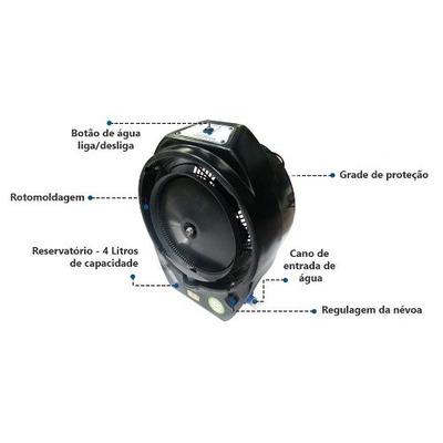 Ventilador Climatizador Umidificador Ecoclean V8 110 Ou