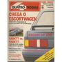 Quatro Rodas 346 1989 Escort 1.8 Xr3 / Kadett / Santana Gls