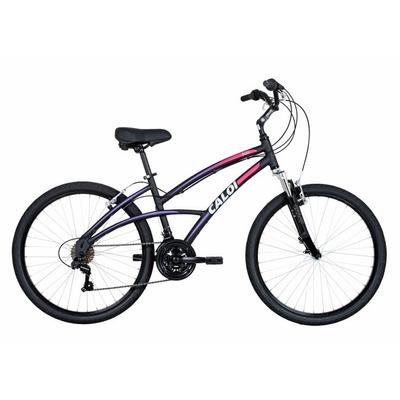 Bicicleta Caloi 500 Feminina Preto Fosco 2016 em Rio Bonito