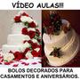 Curso Decoração Bolos Decorados Aniversários E Casamentos Z5