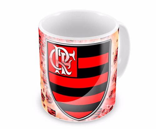 Caneca De Porcelana - Time Flamengo