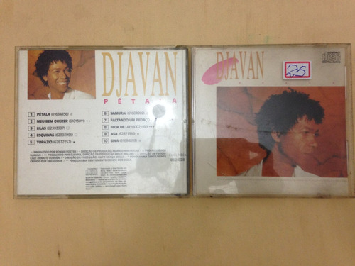 Cd - Djavan - Pétala - Original