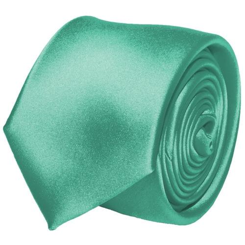 comprar Gravata Lisa Verde Tiffany Acetinada 22c9adcf728
