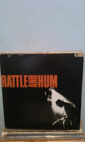 Lp U2 Ratlle And Hum Duplo C/ Os 2 Encartes Original