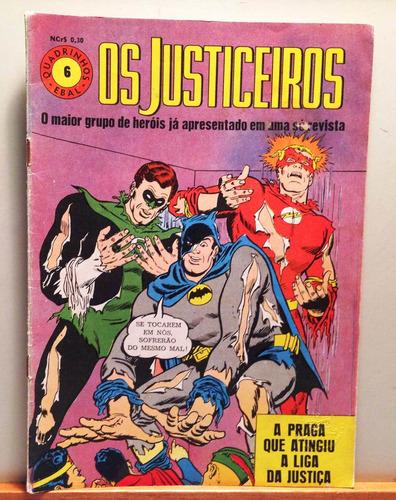 Quadrinhos 1ª Série! Os Justiceiros!  Ebal! Original