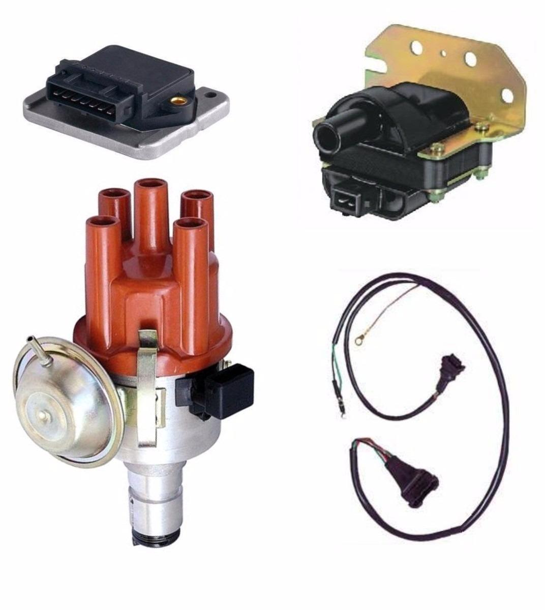 Kit Ignição Eletrônica Fusca Brasilia Kombi  ( 4 Pecas )