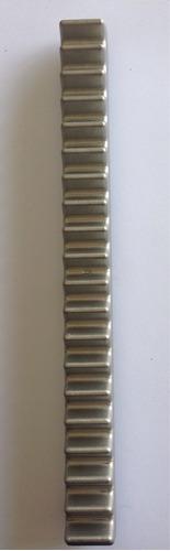 Cremalheira Alumínio Para Motor Rossi 25cm Larg 2,4cm