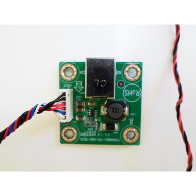 Placa Logica  Monitor Aoc E1670 Swu Kit Completo em Miguel Calmon