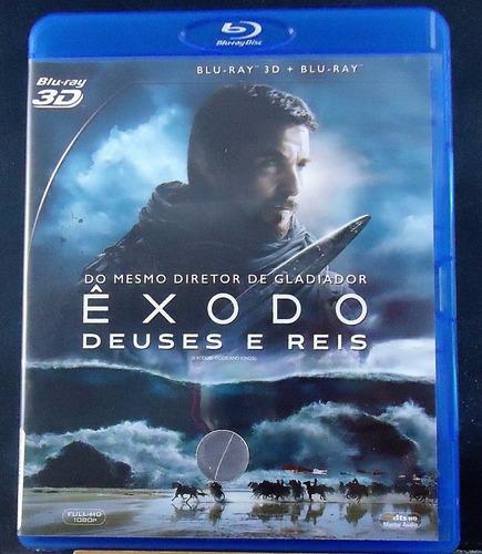 Êxodo: Deuses E Reis - Blu-ray 3d - Christian Bale