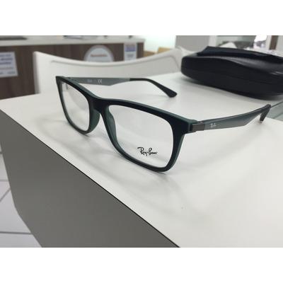 Oculos Receituario P grau Ray Ban Rb7062 5197 55 Original - R  369, cfe161e710