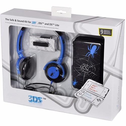 Kit Safe And Sound Spider - 3ds/dsi/ Ds Lite - Tech Dealer