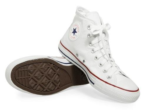 f82429559c Comprar Tênis All Star Converse Original Branco Cano Alto Médio ...