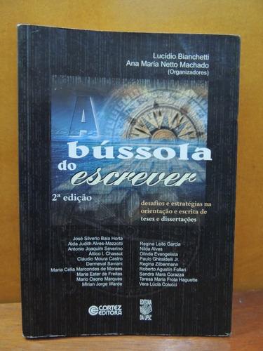 Livro Bússola De Escrever Escrita De Teses E Dissertações