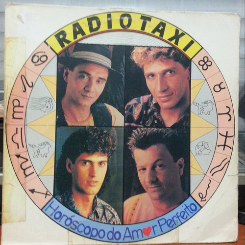 Radio Taxi - Horóscopo Do Amor Perfeito - 1991 (lp) Original