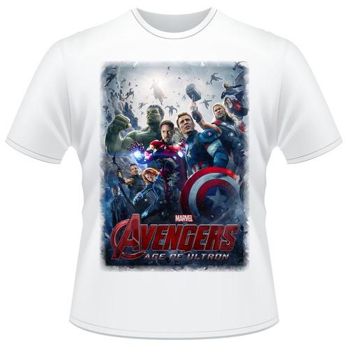 Camisa Vingadores 2 Era De Ultron