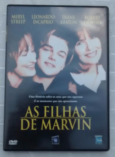 Dvd As Filhas De Marvin - Leonardo Dicaprio Original